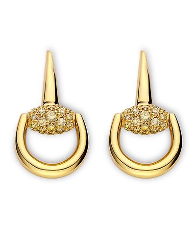 Gucci - Pendientes - Colección Horsebit