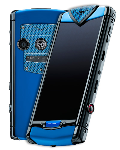Vertu Constellation Touch Blue High