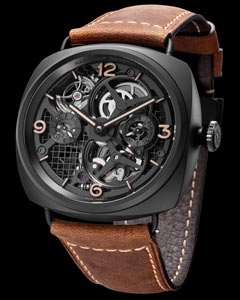 Lo Scienziato Radiomir Tourbillon