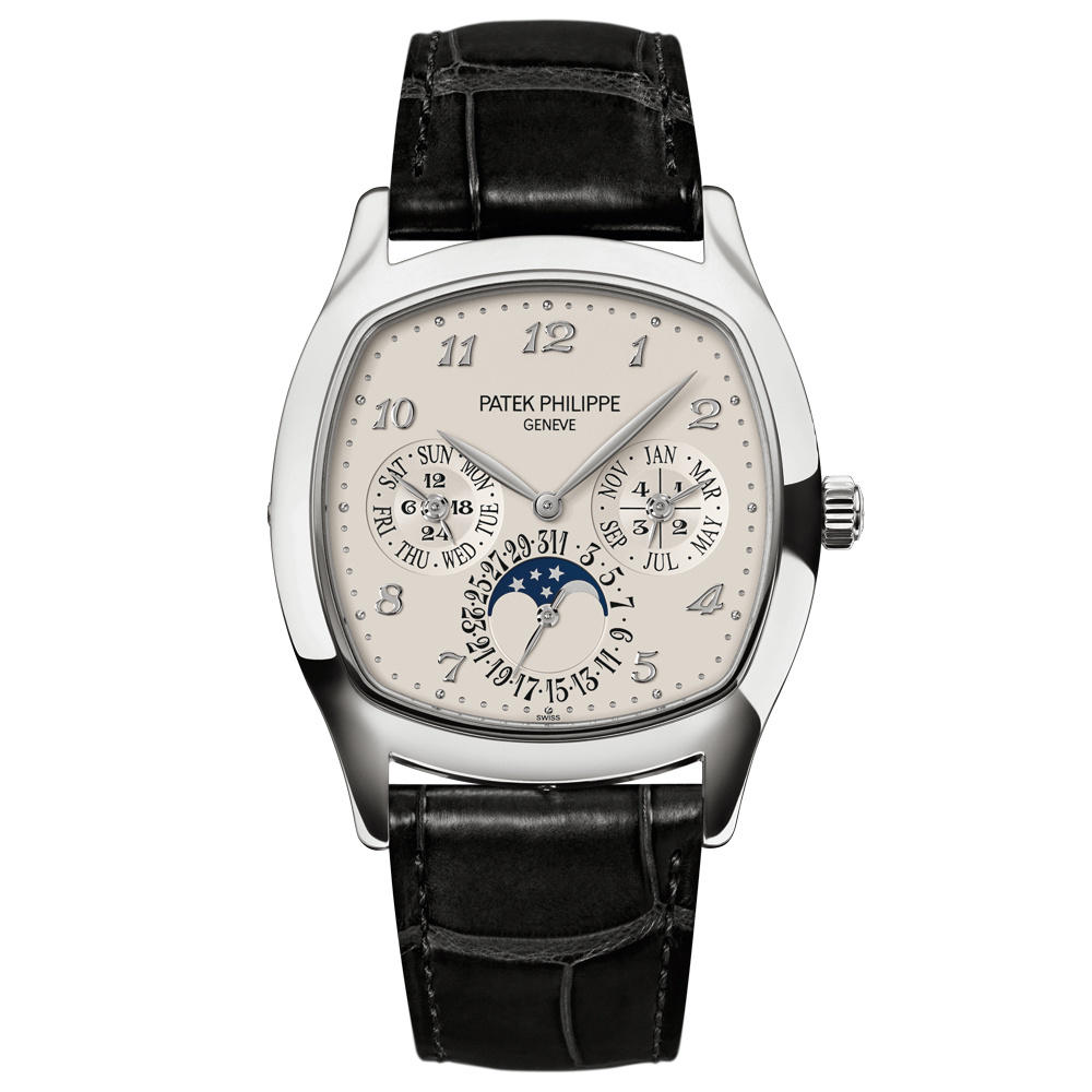 Patek Philippe 5940G-001 - Oro gris - Hombre - Grand Complications Perpetual