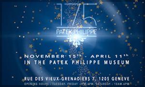 Exposición única de relojes conmemorativos en el Patek Philippe Museum, 2014-2015