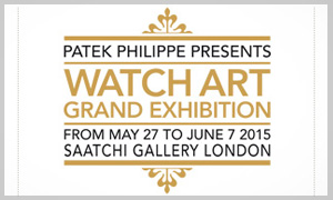 Exposición Watch Art Patek Philippe Grand Exhibition - Galería Saatchi - Londres - 2015
