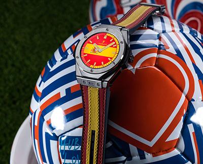 Hublot Big Bang Referee, el reloj del Mundial de Futbol 2018, en su versión española