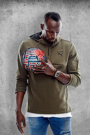 Usain Bolt - Hublot Loves Football