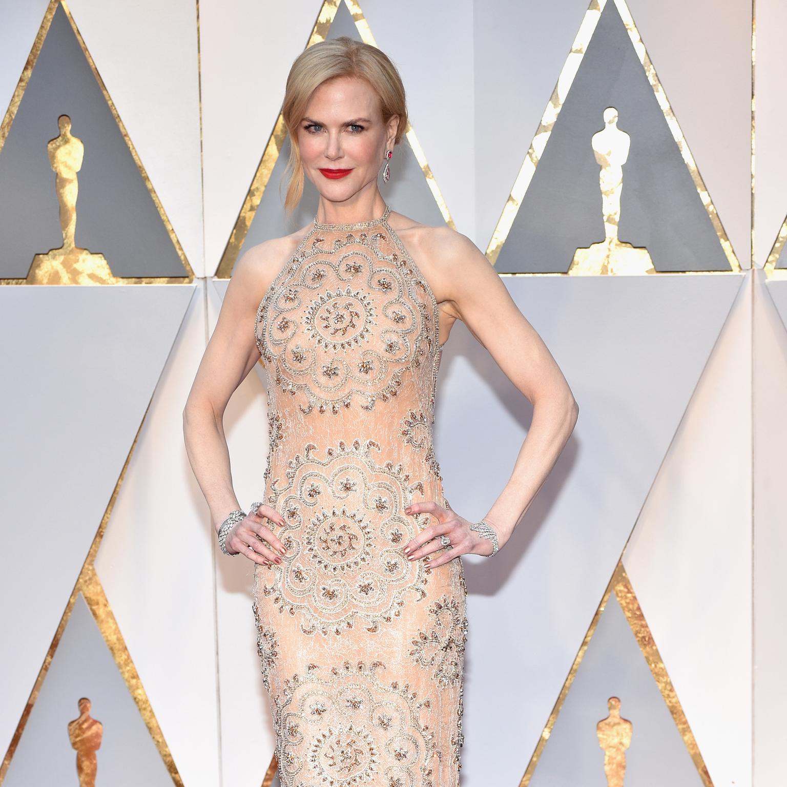 Nicole Kidman luce un Omega Vintage 1955 en los Premios Oscar 2017