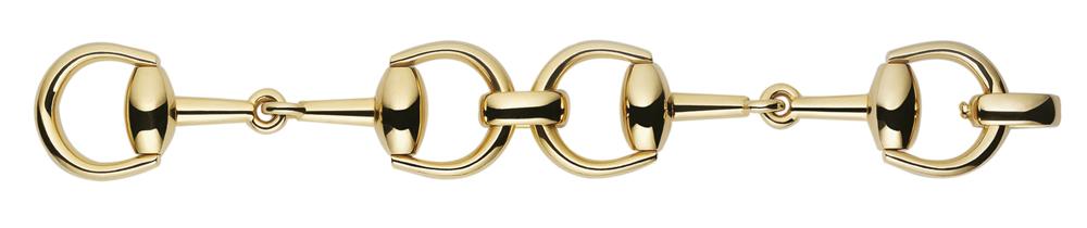 Gucci - Brazalete Horsebit oro amarillo 18K