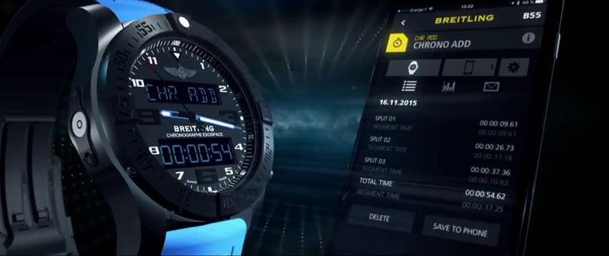 Breitling Cockpit B50 - App