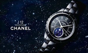 Chanel Horlogerie presenta la colección de relojes J12 Moonphase
