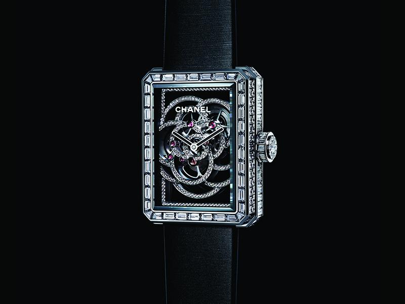 Chanel - Reloj Première Skeleton Camélia