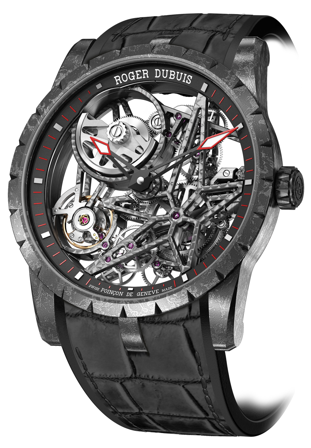 Excalibur Automatic Skeleton - Calibre RD820SQ con micro-rotor
