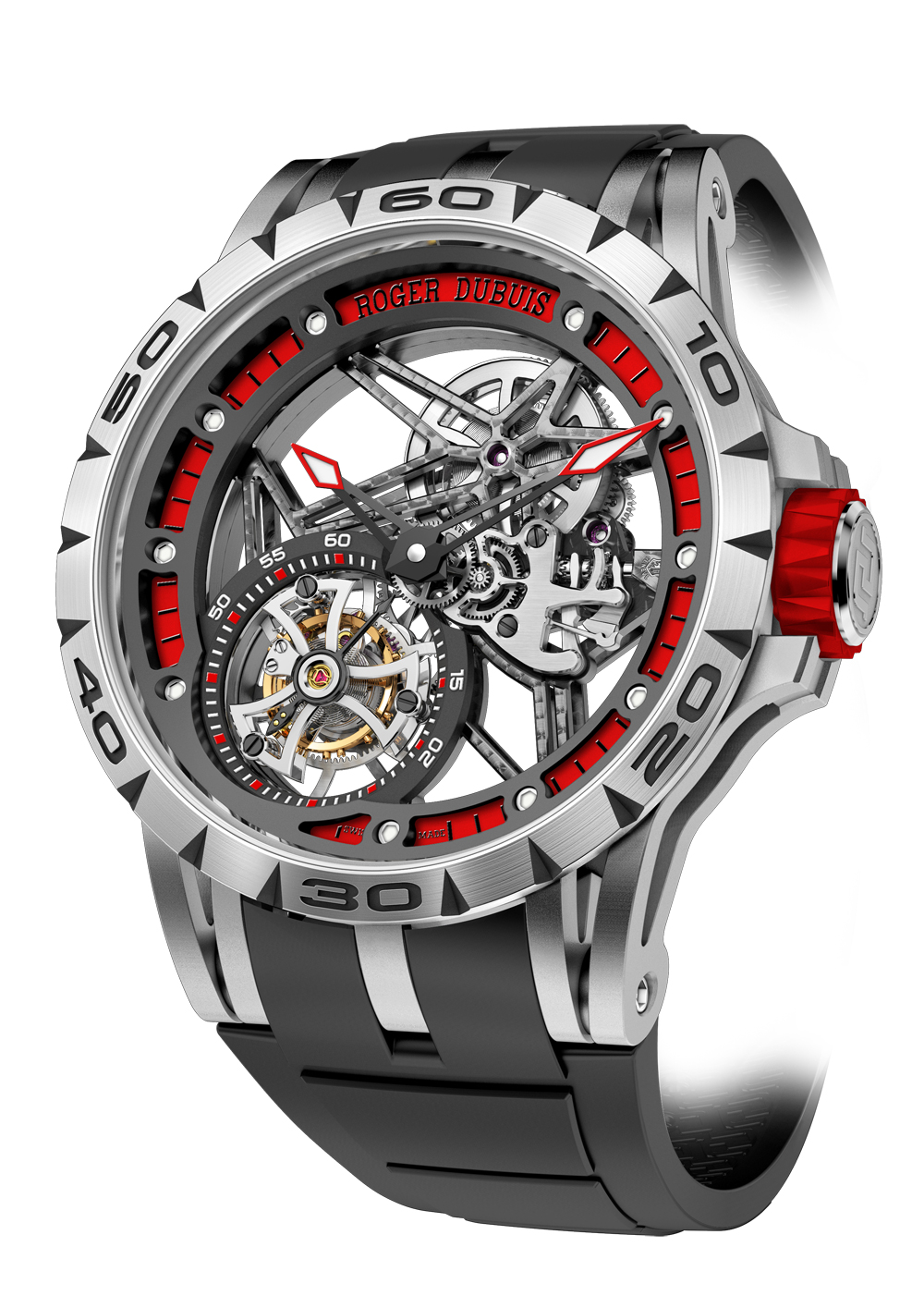 Excalibur Skeleton Flying Tourbillon - Calibre RD505SQ