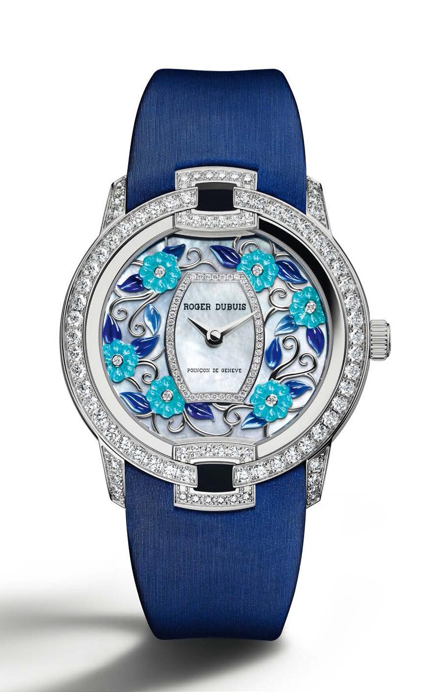 Blossom Velvet Blue - Calibre RD821 Automático