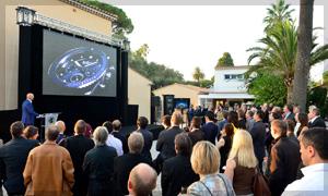 Marc A. Hayek, el Presidente y CEO de Blancpain presenta la iniciativa Blancpain Ocean Commitment