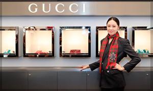 Gucci presentó a su nueva embajadora Hyo Jin Kong