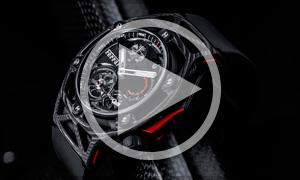 Hublot - Cronógrafo Tourbillon Techframe Ferrari 70 aniversario