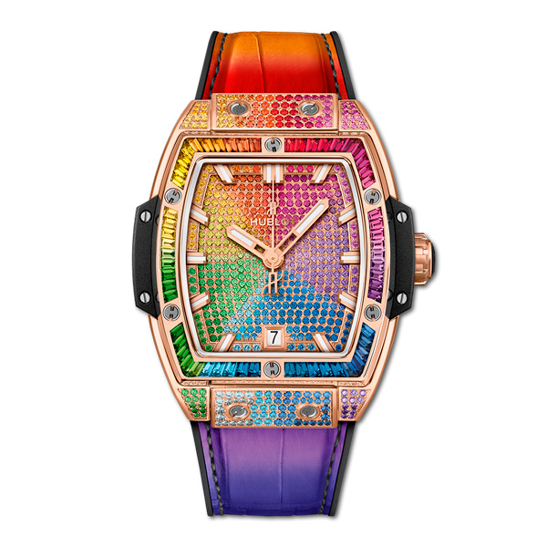Hublot - King Gold Rainbow