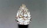 Talla Pera de los diamantes