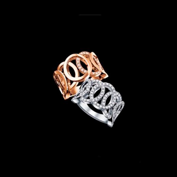 Audemars Piguet – Oval Motif Rings - Amaya Joyeros, Alta Joyería