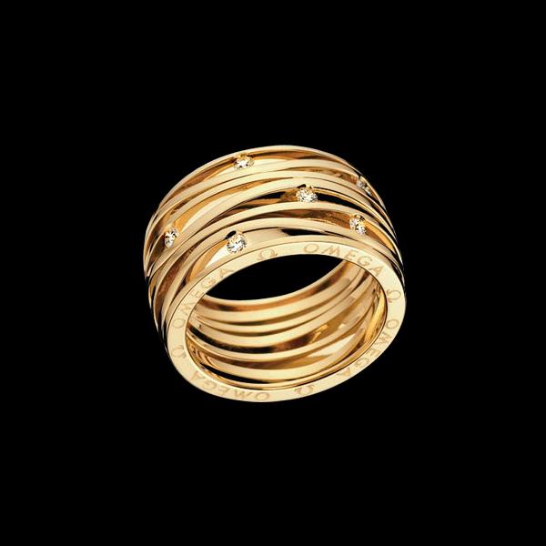 Omega – Aqua Rings - Amaya Joyeros, Alta Joyería