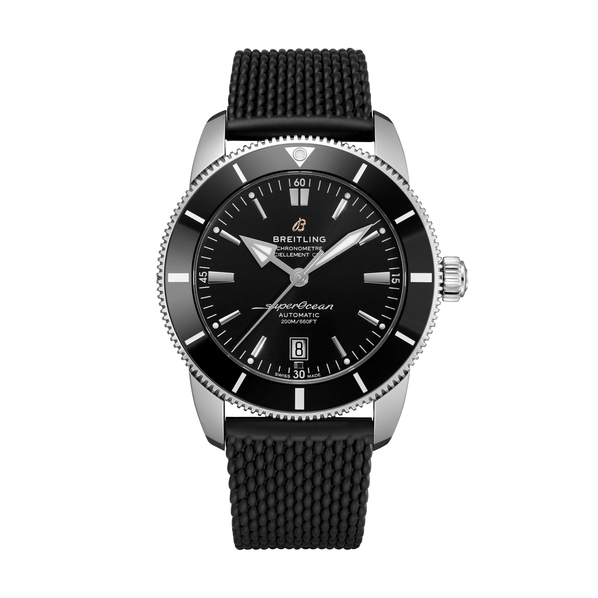 Reloj Breitling – Superocean Heritage B20 Automatic 46 Caucho - Amaya Joyeros