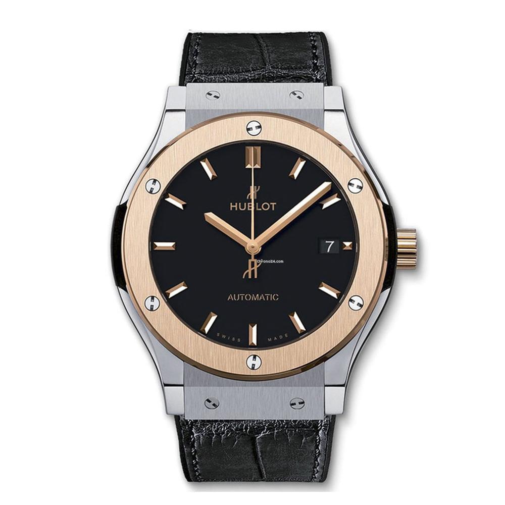 Reloj Hublot – Classic Fusion Titanio y Oro Rosa 42 - Amaya Joyeros