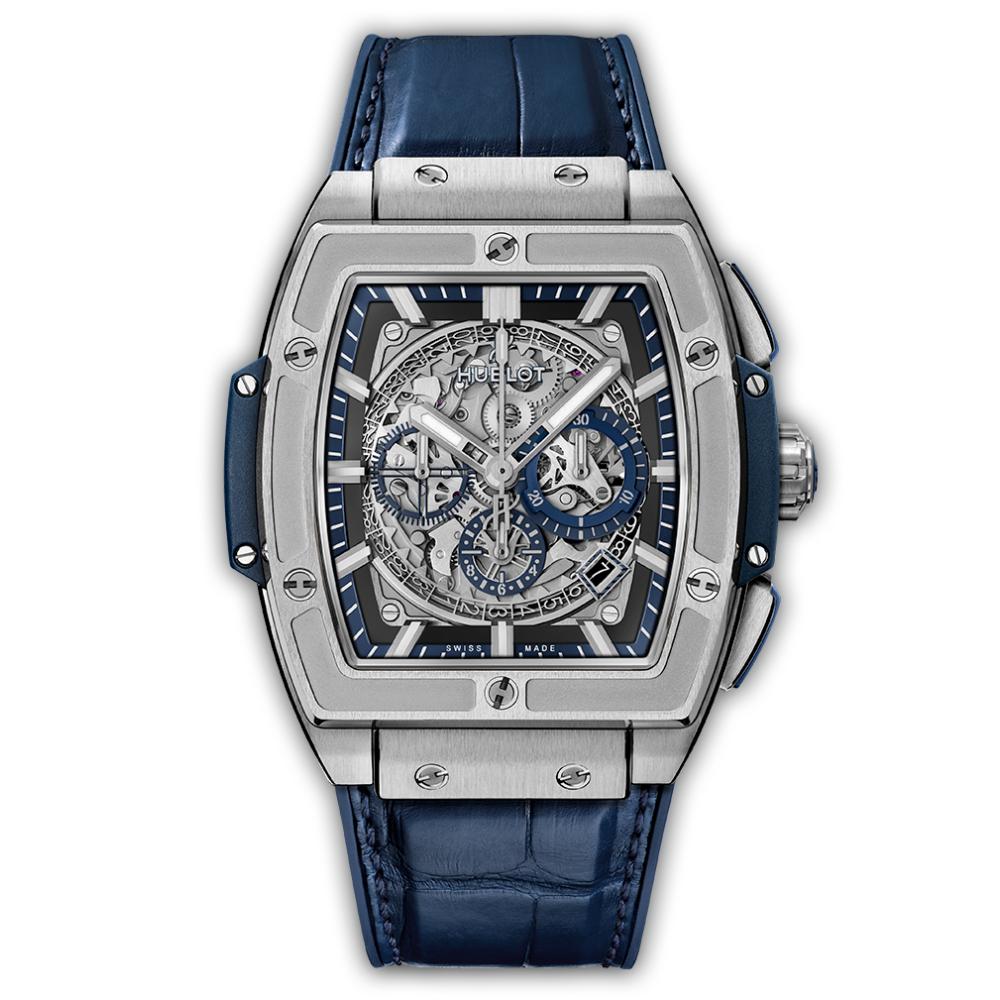 Reloj Hublot – Titanium Blue 45 - Amaya Joyeros