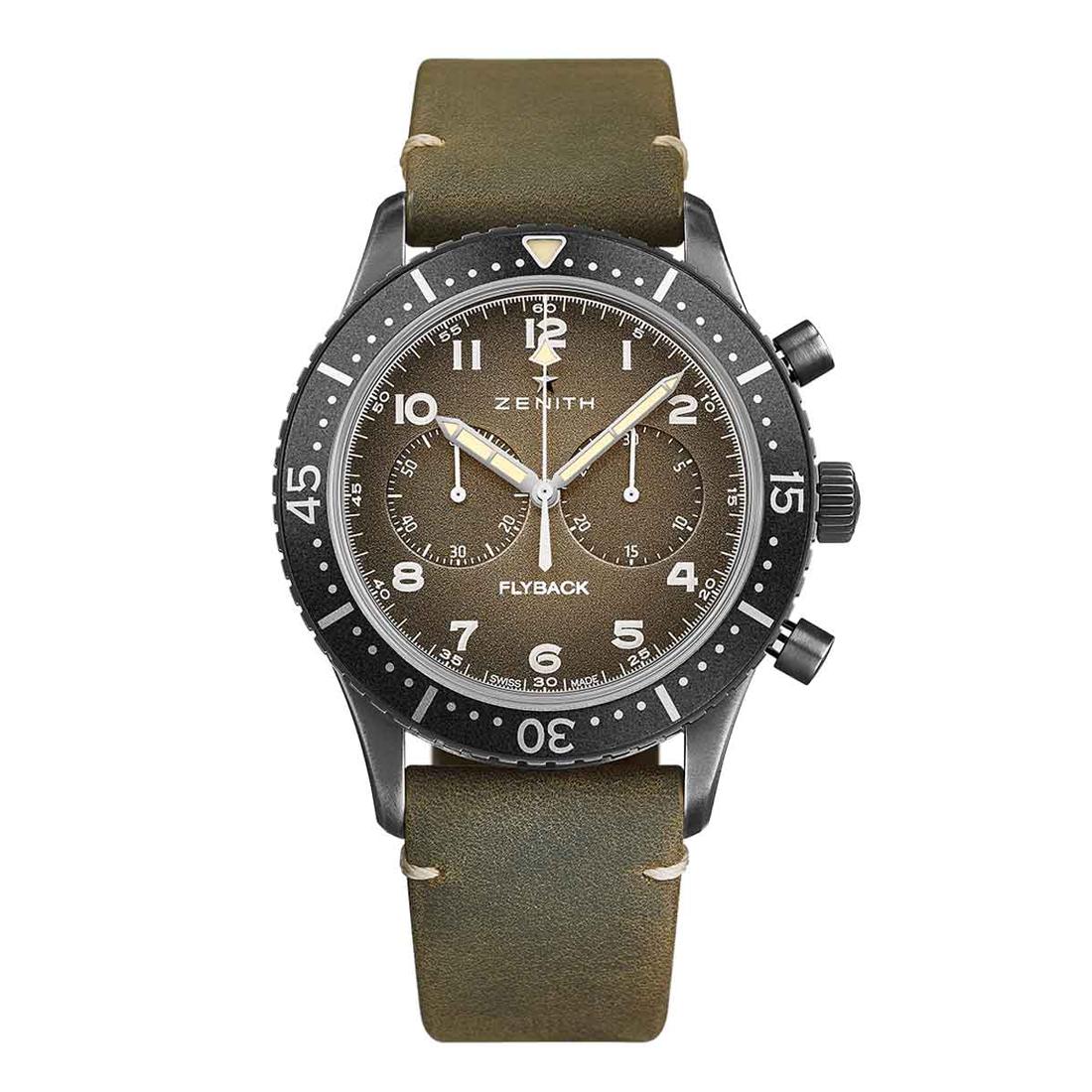 Reloj Zenith – Pilot Cronómetro Tipo CP-2 - Amaya Joyeros