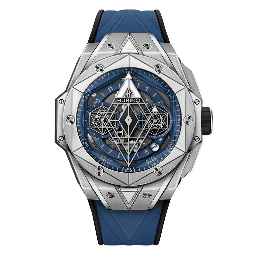 Reloj Hublot - Sang Bleu II Titanium Blue 45 - 418.NX.5107.RX.MMX20 - Amaya Joyeros