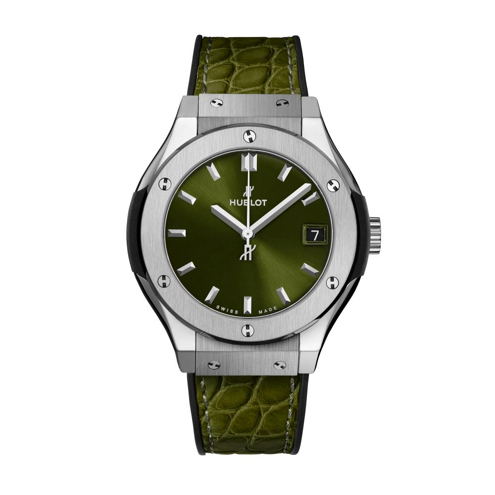 Reloj Hublot – Titanium Green 33 - Amaya Joyeros