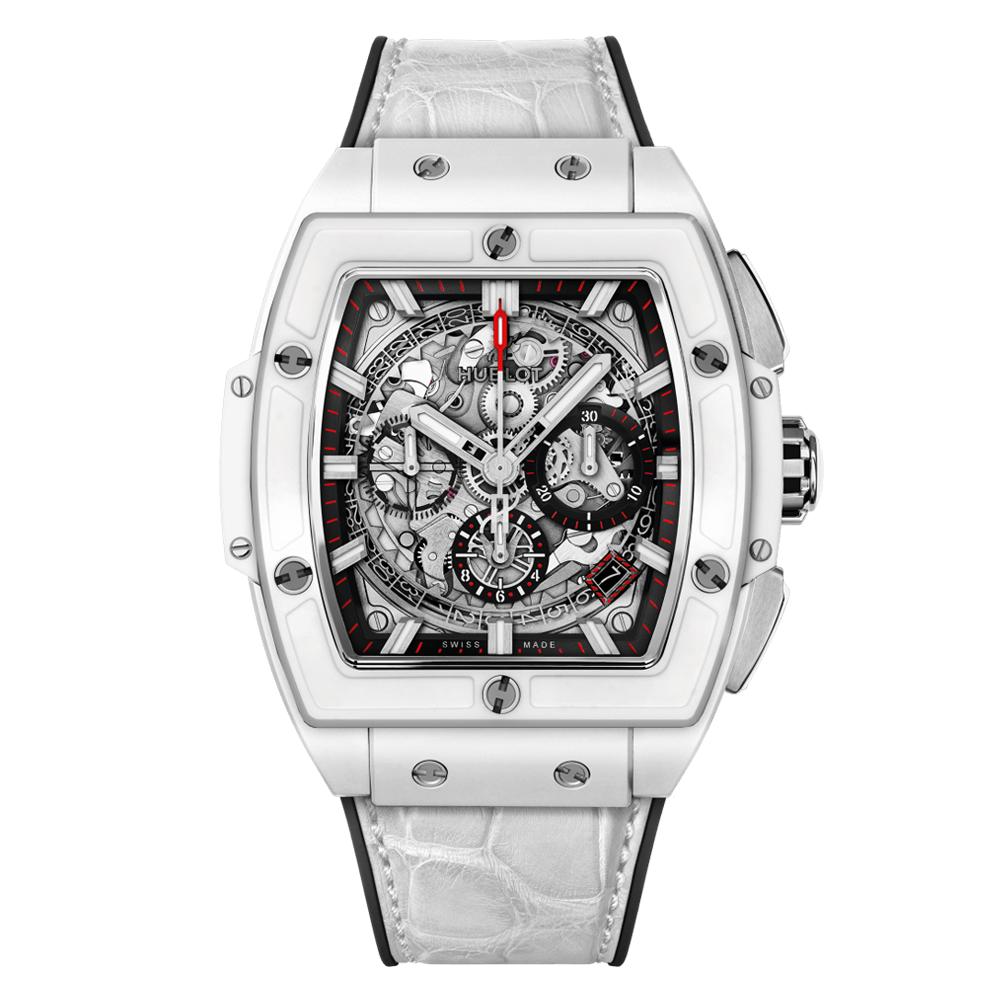 Reloj Hublot – White Ceramic 42 - Amaya Joyeros