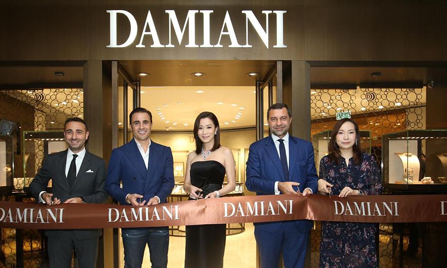 Damiani inaugura su nueva Boutique en Hong Kong