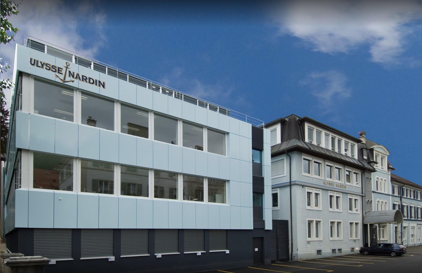 Sede de Ulysse Nardin en Le Locle, Suiza