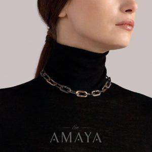 Conjunto de cadenas Mon Jeu de Vhernier en forma de collar